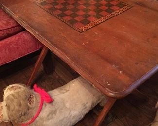 Wonderful antique game table