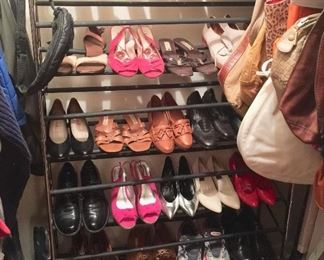 Shoes: women's are mostly size 7 or 7.5  Born, Uggs, Josef Seibel, Brighton, Larry Mayan boots, Cole Haan, Under Armour