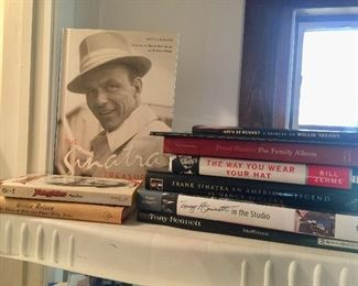 Sinatra book and more