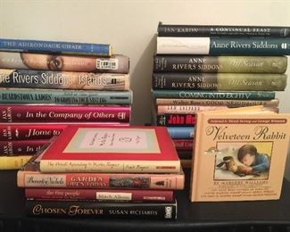 Jan Karon books, Anne Rivers Siddons, and more