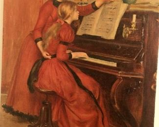 Wonderful picture perfect for your music room