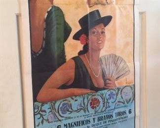 Before Dora the Explorer, we had this going on. Great vintage poster in Spanish.