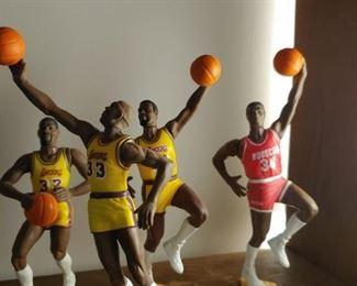 Basketball figurines