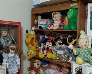 Plush and Dolls