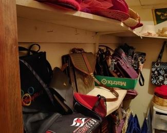 purses, Red Hat, More Red Hat