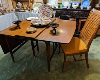 MCM Mid Century Modern drop leaf table