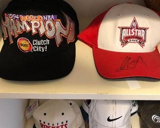 Yao Ming autographed all star cap