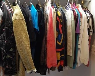 Women's clothes sweaters and coats