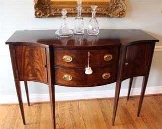 Hickory Chair Chippendale style sideboard.