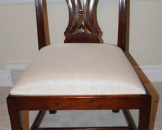 Chippendale single chair.