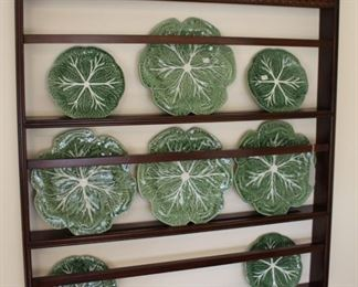 We have two of these beautifully detailed plate racks.