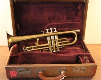 E, K. Blessing Elkhart, Indiana trumpet.