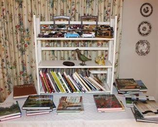 We have a large amount of decorating  and gardening books.