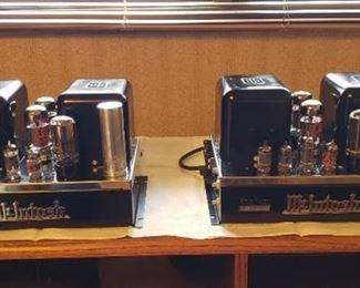 Vintage McIntosh MC-30 Tube Mono Block Amplifier Stereo Pair (Works) - MC-60 Family