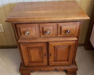 Bassett Furniture One drawer Nightstand - 24in.x 16in.x 26in.