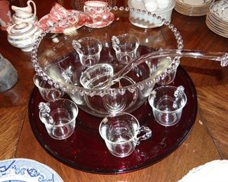Candlewick Punch Bowl