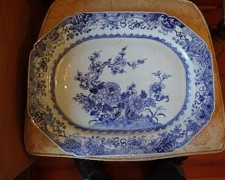 Great Chinese Platter - Late 1700's