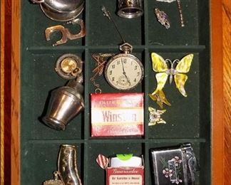 Jewelry, Lighters, Pocket Watches