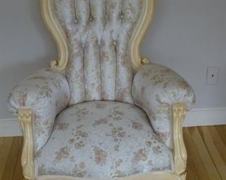 2nd Chair of Victorian lounge suite.