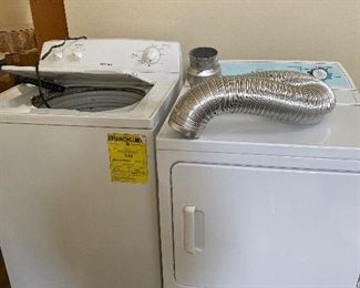 Washer and Dryer great condition.