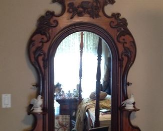 Top of very nice antique dresser (bottom is in next picture )