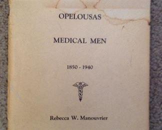 Opelousas medical men by Rebecca W. Manouvrier