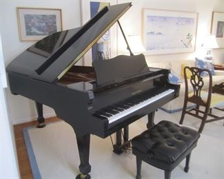 CHARLES WALTER GRAND PIANO    ART IS NOT FOR SALE