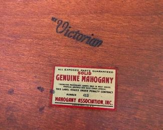 SOLID Mahogany (not hollow mahogany, which is my nickname for Cher)