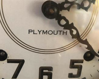 Plymouth clock (rhymes with Plymouth Rock, apropos of nothing)