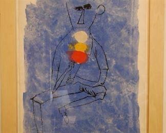 """""""Ice Cream Cone"""", Ben Shahn, 1898-1969, Lithograph, 22""""30"""
