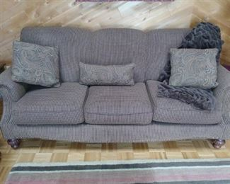 Fabric couch which goes with matching love seat