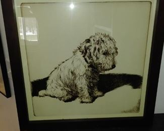 Beautifully framed and matted print