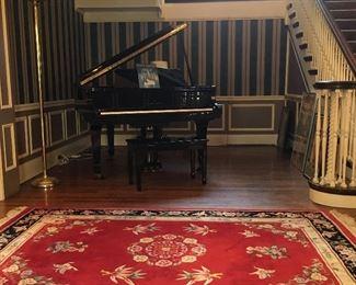 "YOUNG CHANG G-157 (5'2"")  POLISHED EBONY BABY GRAND PIANO"