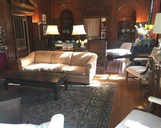SOFAS, CHAIRS, RUGS, LAMPS & MORE