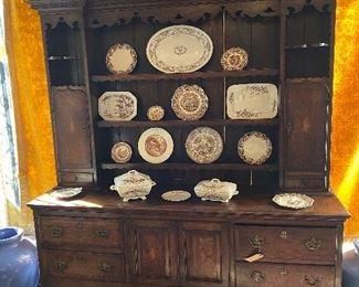 Beautiful English Welch cupboard