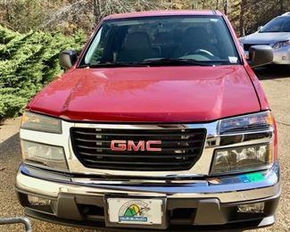 SOLD!  SOLD !  SOLD!                                                            2005 GMC Canyon SLE Extended Cab Pick-Up Truck.
