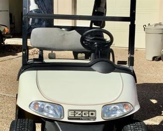 Another view of the EZ-GO Golf Cart