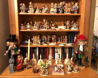 Part of the Hummel collection the Lavecchias began collecting while living in Germany at the end of WWII!