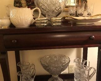Lots of punch bowls available. Gorham