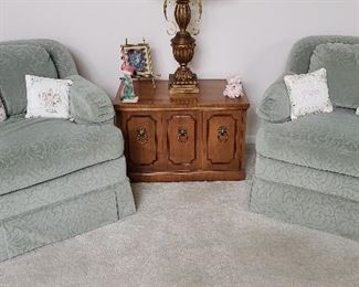 Upholstered Accent Chairs by Thomasville