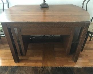 Library table/desk (vintage)