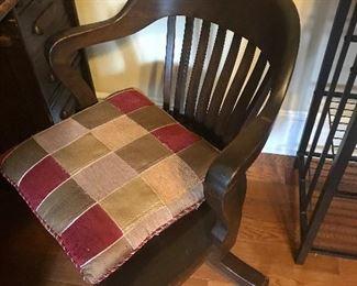 Wooden office/desk chair