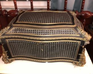 Very early 1800's jewelry casket with hidden space. FRENCH