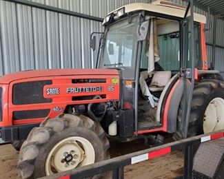 SAME FRUTTETO II 85 ORCHARD TRACTOR (RUNNING GREAT)....$3850