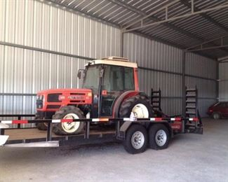 SAME FRUTTETO II 85 ORCHARD TRACTOR (RUNNING GREAT)....$3850....TRAILER HAS BEEN SOLD & IS NOW GONE...SAME IS RUNNING GREAT...YOU NEED THIS  TRACTOR!