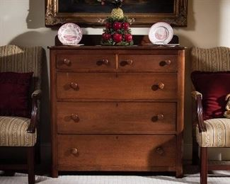 Antique 5 drawer chest