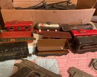 Vintage Collectible Train Set