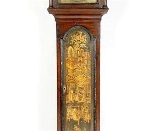 Anthony Marsh Georgian Chinoiserie Tall Case Clock