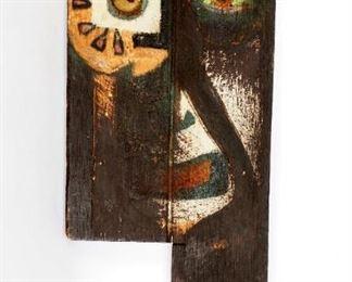 Attrib. JeanMichel Basquiat Mixed Media
