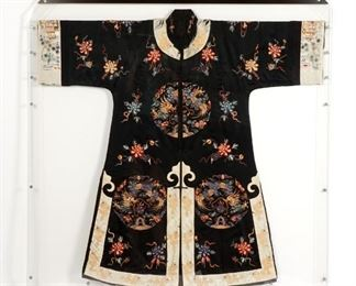 Late Qing Chinese Silk Robe